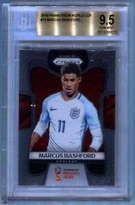 Marcus Rashford 2018 Panini Prizm World Cup #72 BGS 9.5 GEM MINT RC England