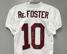 Reuben Foster SIGNED Alabama Football Jersey AUTO PHOTO PROOF w/ 2016 Butkus