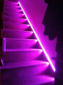 10M Colour Changing Kitchen Stairs Ceiling Coving Led Lighting - Plug & Play Set
