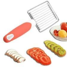 Stainless Steel Tomato Veg Slicer Cutter Dicer Egg Fruit Vegetable Kitchen Tool