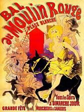 VINTAGE ADVERT MOULIN ROUGE DANCERS NEW ART PRINT POSTER PICTURE CC4581