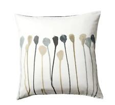 Ikea SKOGSNÄVA Cushion Cover Gray Beige Cotton 50X50 New Skogsnava Pillow Cover