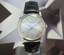 Vintage 1958 Men's Omega Automatic 19 Jewels Wristwatch One Year Warranty