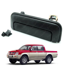 Rear Tailgate Handle Set Black For Mitsubishi Strada L200 Triton 1996 - 2005