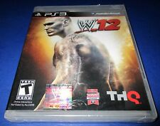 WWE '12 Sony PlayStation 3 *Factory Sealed! *Free Shipping!