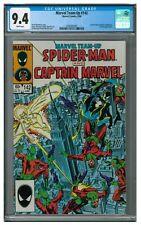 Marvel Team-Up #142 (1984) Spider-Man & Captain Marvel CGC 9.4 AA316