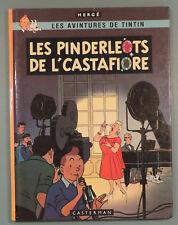 Tintin en Picard Tournaisien Pinderloets de l'Castafiore EO Herge Casterman