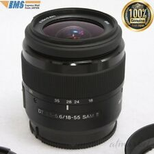 SONY SAL18552 Zoom Lens Standard DT 18-55mm F3.5-5.6 SAM2 F/S from JAPAN EMS