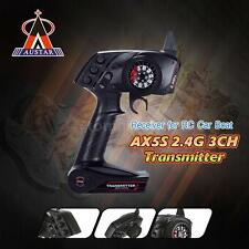 AUSTAR AX5S 2.4G 3CH AFHS Radio Transmitter + Receiver for RC Car Boat US