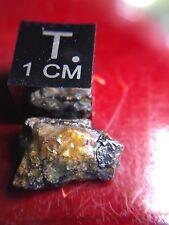 """Meteorite**Unclassified, Pallasite Crystal**0.89 Gram """"Space Crystal"""" Algeria"""