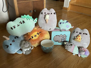 Pusheen Lot, Cute Plushes And Items. Super Clean!