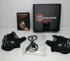 Zackees LED Turn Signal Gloves Black, Large