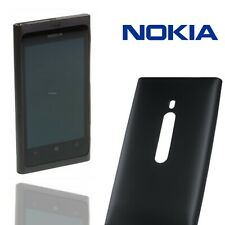 Oficial Nokia Lumia 800 cubierta suave caso delgado duro silicona Flex Genuino Negro