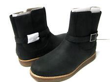 UGG CAMREN WOMEN ANKEL BOOTS LEATHER BLACK US 8.5 /UK 7 /EU 39.5