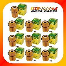 10 OEM BMW Oil Filter Mann-Filter HU 715/4x  Z3, 318i, 318ti, 318is 1999-1996