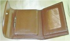 Black or Brown Stingray Trifold Wallet, Stingray Leather Ladies Trifold Wallet