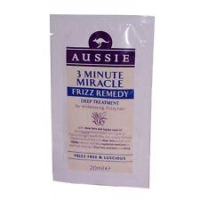 3 X Aussie 3 minuto Milagro Frizz remedio profundo tratamiento Sachet 20 Ml