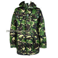 Genuine British Army DPM Windproof Woodland Camo Smock Jacket, NEW