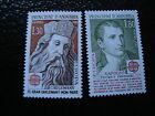 ANDORRE FRANCAIS - timbre yvert et tellier europa n°284 285 n** - stamp