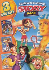 Hercules +Le Bossu de Notre Dame +Prince d'Egypte - 3 Grandes Histoires en 1 DVD