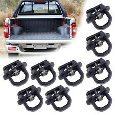 9x Tie Down Anchor Truck Bed Side Wall Anchors Fit for GMC Chevy Silverado Metal