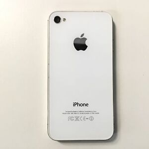 Apple iPhone 4s 16GB White A1387 #327
