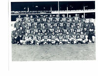 1958 NEW YORK GIANTS DIVISION CHAMPS 8X10 TEAM PHOTO FOOTBALL NFL HOF