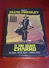 DVD UN UOMO CHIAMATO CHARRO /1969/ ELVIS PRESLEY / NUOVO