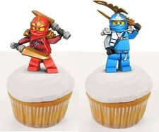25 Personnage stand up Lego Ninjago Gateau Disque Azyme Comestible Annif
