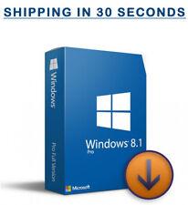 Microsoft Windows 8.1 Pro Prefessional - 32/64bit - Original Key - Multilingual