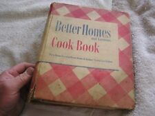 Better Homes Gardens  Cookbook 12th Printing De Luxe Edition 1947