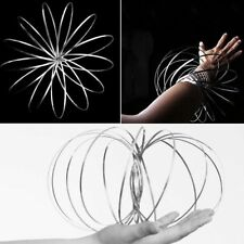 Magic Kinetic Ring Toy Funny Free Flow Spring Juggle Dance Toy Rings UK Seller