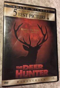 The Deer Hunter 1978 DVD Universal 1998  Robert De Niro  Meryl Streep Pamphlet