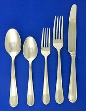 Waterford Stardust 5 Piece Place Setting 18/10 Stainless Flatware Fork Spoon