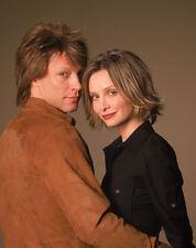 Jon Bon Jovi and Calista Flockhart UNSIGNED photo - D1912