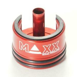Maxx Model Airsoft Aluminum Double O-Ring & Damper Aeg Cylinder Head CYL001CHS