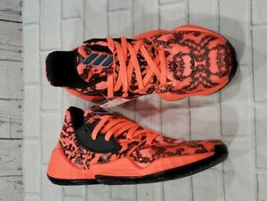 Adidas Harden Vol. 4 Signal Coral Basketball Shoes FV4151 MENS SIZE 8