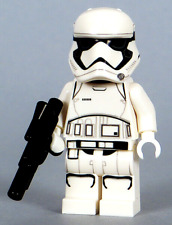 LEGO Star Wars - First Order Stormtrooper Minifigure, Blaster 75166 75225 (NEW)