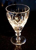 Beautiful Cut Crystal Wine Glass