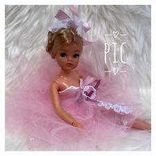 Vintage Sindy Double Cup 🩰 Ballerina 🩰 Rare Ash Blonde  Both Ankles Pose