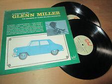 GLENN MILLER ORCHESTRA a memorial for glenn miller JAZZ FESTIVAL 2 Lp's 70's