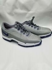 Nike Mens Zoom Attack Golf Shoes Size 7 Grey/ Blue 878959-002 New Free Shipping
