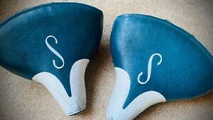 Vintage Schwinn S old style USA Mesinger blue white