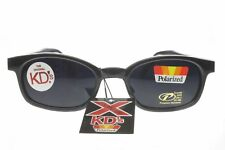 X KD's Sunglasses Original Biker Shades Motorcycle Polarized Black Gray 1019