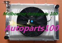 Alloy Radiator+Shroud+Fan For Holden Commodore VG VL VN VP VR VS V8 4 Rows AT MT