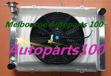 For Holden Commodore Radiator+Shroud+Fan VG VL VN VP VR VS V8 3 Core 52m Alloy