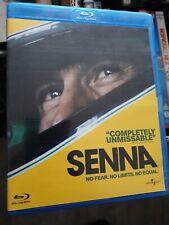 SENNA Blu Ray NEW UNSEALED Ayrton Senna Formula 1 Motor Racing Documentary