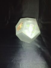 Pentagon Fairy Owl Lamp With Frosted Glass