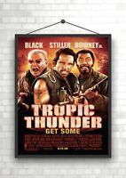 Tropic Thunder Classic Movie Poster Art Print A0 A1 A2 A3 A4 Maxi
