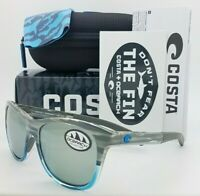 NEW Costa Vela Sunglasses OSEARCH SH Coastal Fade Gray Silver Mirror 580G Glass